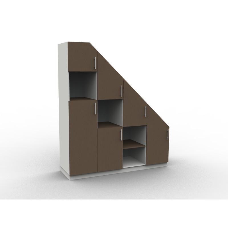 Placard sous escalier en kit