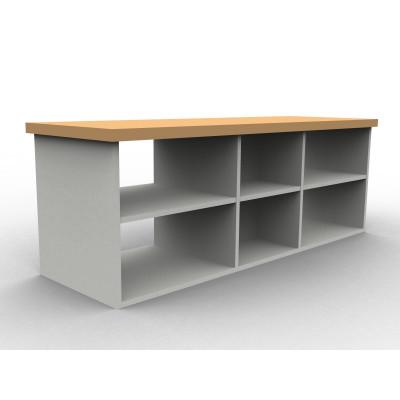 Composer un meuble de séparation