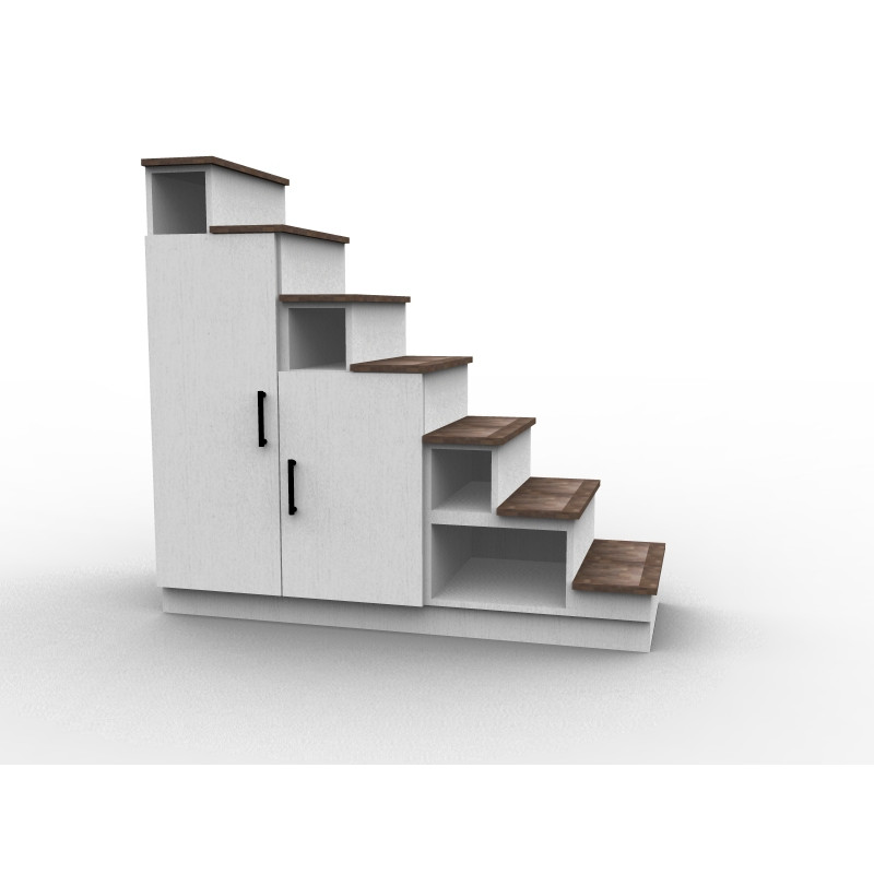 treppe mit schrank. Black Bedroom Furniture Sets. Home Design Ideas