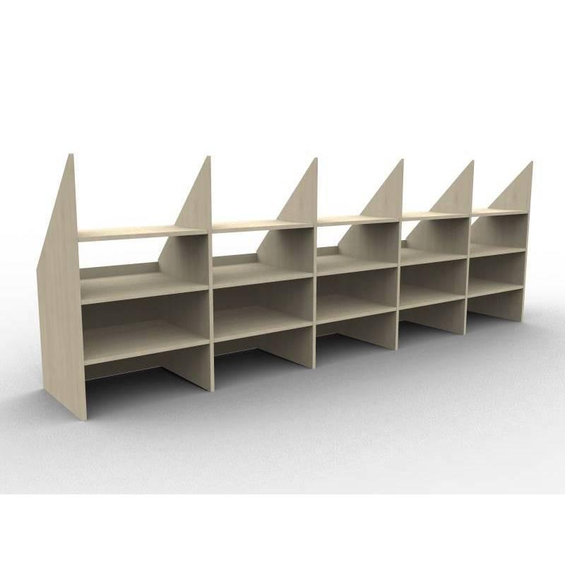 Bibliothek für dachzimmer