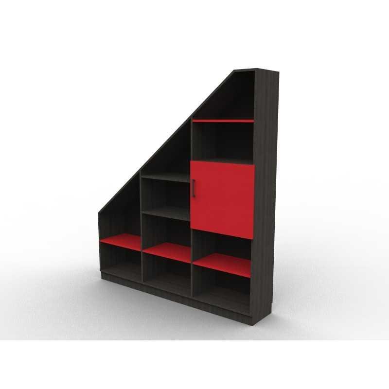 """Unter dem Dach Bibliothek """"Red and Black"""""""